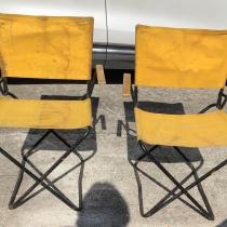 2 fauteuils  de jardin,pour le picnic